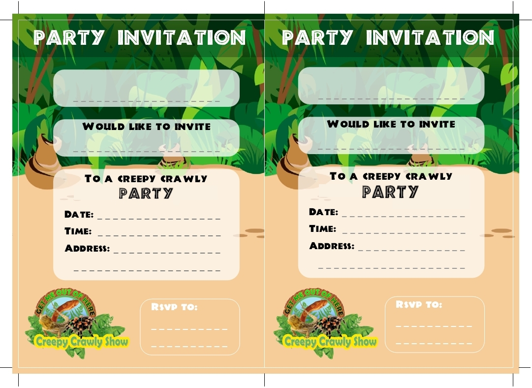 Children Party Invitations as best invitations design
